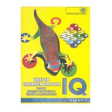 Хартия Mondi IQ, А4, 160гр., 5 х 25, пастел