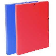 Кутия с ластик PVC, цветна