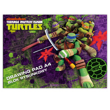 Скицник STARPAK Turtles А4 297922