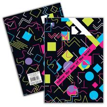 Тетрадка 10201, малък формат, широки редове, 80 л., в-к