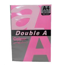 Цветна хартия Double A, 80гр., Neon pink, 24384