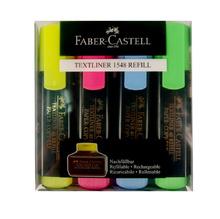 Комплект текст маркери Faber-Castell 1548, 4 цвята, 14841