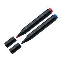 Перманентен маркер Faber Castell Grip скосен различни цветове