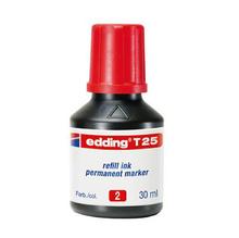 Мастило за маркер EDDING T25, червено, 10781