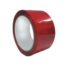 Опаковъчна цветна лента, 48х60, червена