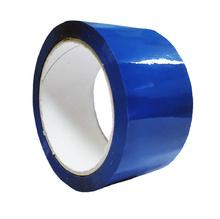 Опаковъчна цветна лента, синя, 48х60