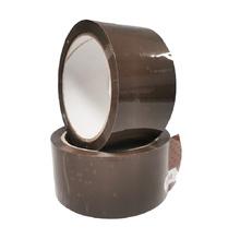 Опаковъчна цветна лента, кафява, 48х60