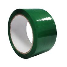 Опаковъчна цветна лента, зелена, 48х60