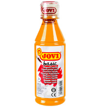 Темперна боя JOVI Basic - оранжева, 250 мл.