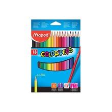 Цветни моливи MAPED ColoePeps, 18 цвята
