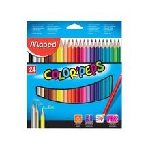Цветни моливи MAPED ColorPeps, 24 цвята