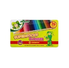 Цветни моливи JOLLY Supersticks, 36 цвята, метална кутия