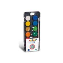 Акварелни бои PRIMO, 12 цвята, ф30