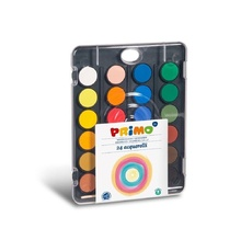 Акварелни бои PRIMO, 24 цвята