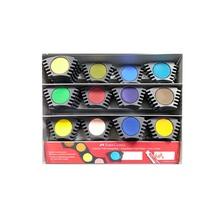 Акварелни бои Faber - Castell, различни цветове