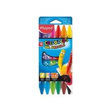 Маслени пастели MAPED ColorPeps, 12 цвята