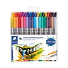 Флумастери STAEDTLER, 36 цвята, двувърхи