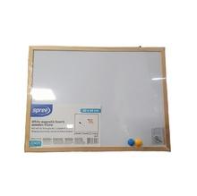 Магнитна бяла дъска с дървена рамка Spree, 30 х 40 см