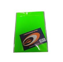 Самозалепващ лист А4, неон, зелен