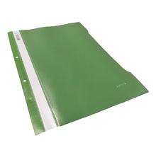 PVC папка, светло зелена, А4