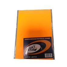 Самозалепващ лист А4, неон, оранжев