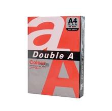 Цветна хартия Double A, 80гр./кв.м., 500 листа, Red