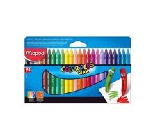 Восъчни пастели MAPED Color Peps, 24 цвята