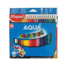 Акварелни  моливи MAPED, 24 цвята