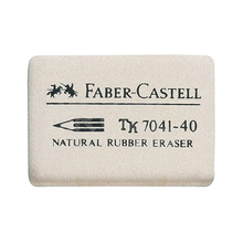 Гума Faber Castell /бяла/ 7041-40