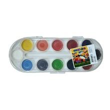 Акварелни бои ARA COLORS , 12 цвята, медни