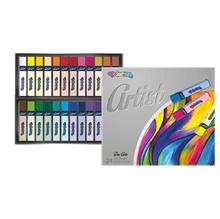 Сухи пастели Colorino, 24 цвята