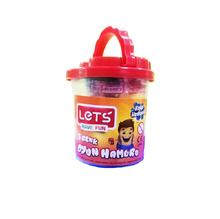 Пластелин Let's L8100, 5 цвята