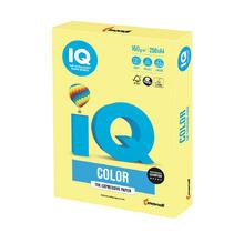 Цветен картон IQ Color, А4, 250 листа, Lemon Yellow, ZG34