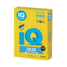 Цветен картон IQ Color, А4, 250 листа, Mustard, IG50