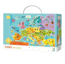 Пъзел Dodo Map of Europe , 100 части