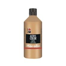 Акрилна боя Marabu, 500 ml, Medium Brown 040