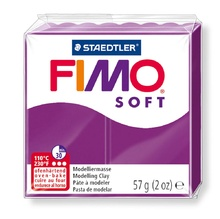Полимерна глина STAEDTLER Fimo Soft №61, Purpur