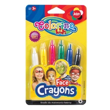Пастели за лице Colorino, 6 цвята