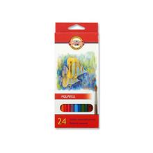 Акварелни цветни моливи KOH-I-NOOR, 24 цвята