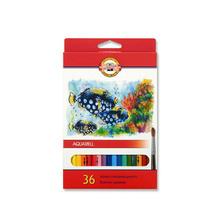 Акварелни цветни моливи KOH-I-NOOR, 36 цвята