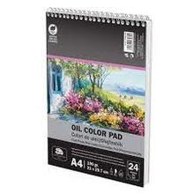 Скицник спирала А4 190 гр 24 листа Маслени бои